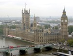 Вестминстерский дворец и Биг Бен