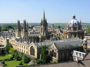 Oxford the capital of the county Oxfordshire (Оксфорд столица графства Оксфордшир)